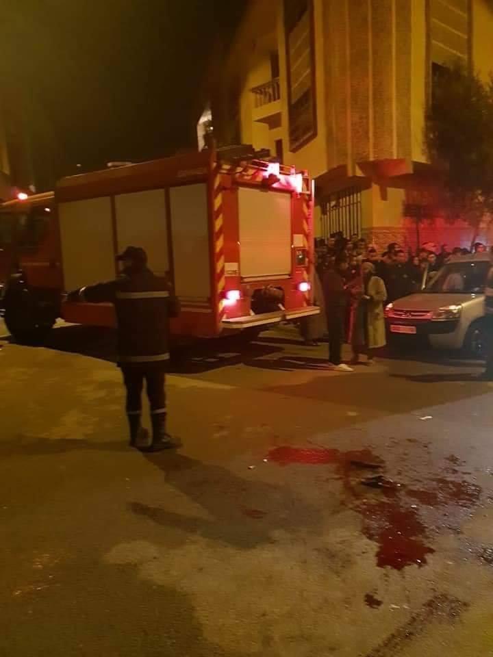 انتحار خمسينية برمي نفسها من فوق عمارة سكنية بمكناس