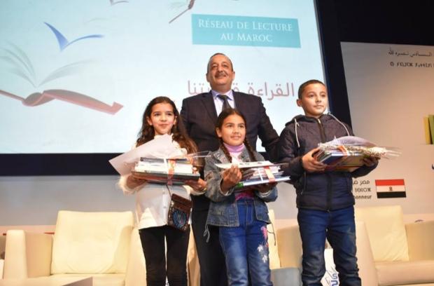 تتويج الفائزين بالجائزة الوطنية للقراءة في دورتها الخامسة