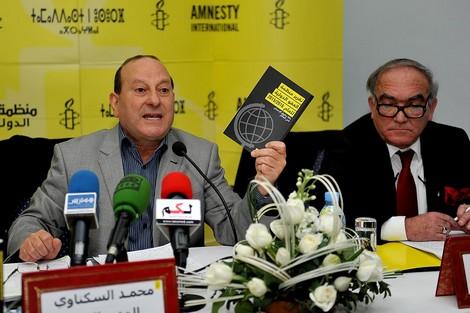"""""""أمنيستي"""" ترسم صورة قاتمة حول وضعية حقوق الإنسان بالمغرب وتصفها بـ""""المفزعة"""""""