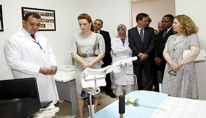 انفراد..الأميرة لالة سلمى تتفقد المركز الجهوي للأنكولوجيا ببني ملال