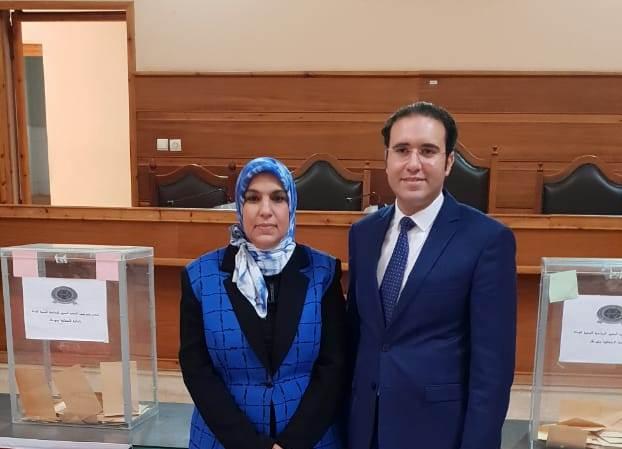 انتخاب عائشة العازم رئيسة للمكتب الجهوي للودادية الحسنية للقضاء والدرقاوي نائبا لها ببني ملال