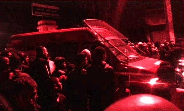 غريب …بالصور ..فتح قبر امرأة بعد سماع صوت داخله بمدينة إبن أحمد