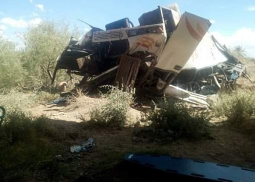 """بعد حادث أنزا أكادير.. إصابة 20 شخصا بجروح إثر اصطدام حافلة للنقل العمومي بـ """"بيكوب"""" بتزنيت"""