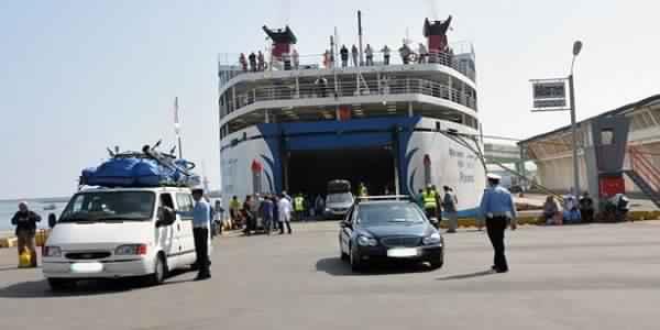 ميناء طنجة المتوسط ينشر توقعات عملية العبور 2019