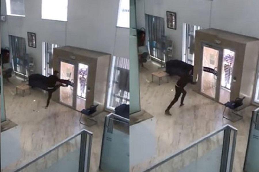 محكمة طنجة تحكم على الشاب الذي حاول سرقة وكالة بنكية ب3 سنوات و20 ألف درهم غرامة