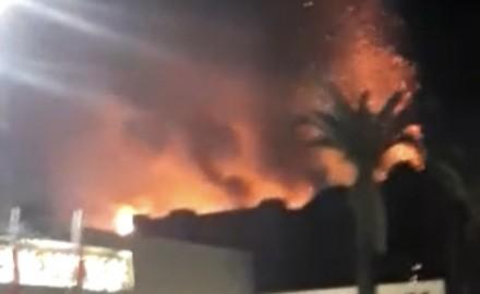 حريق مهول في فندق ببني ملال في ثاني أيام شهر رمضان