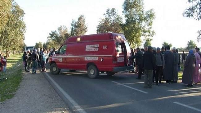 إصابة 4 أساتذة إثر حادثة سير ضواحي سطات