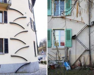 Une ville de Suisse se démarque à cause de ses, escaliers pour chats.