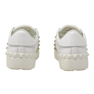 Valentino White Rockstud Untitled Sneakers 35