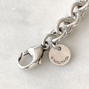 Tiffany & Co Silver Return to Tiffany Chain Link Necklace