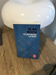 Elsa Roch ce qui se dit la nuit