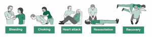 First Aid Guide Elements