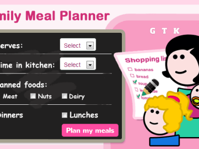 Save Money With Meal Planner