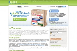 Quidco - Favorite Cashback Site