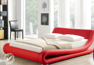 Stunning Red Bed