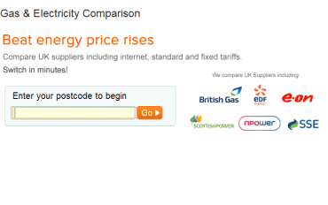 Save on gas and electricity