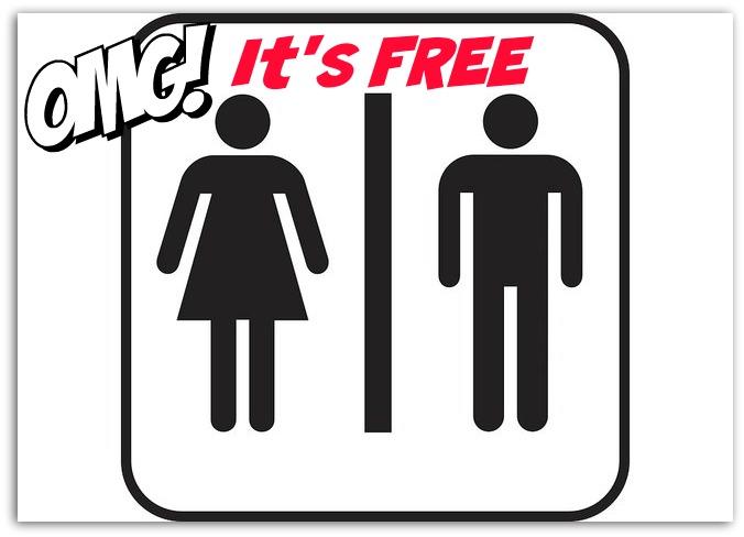 Free Toilets