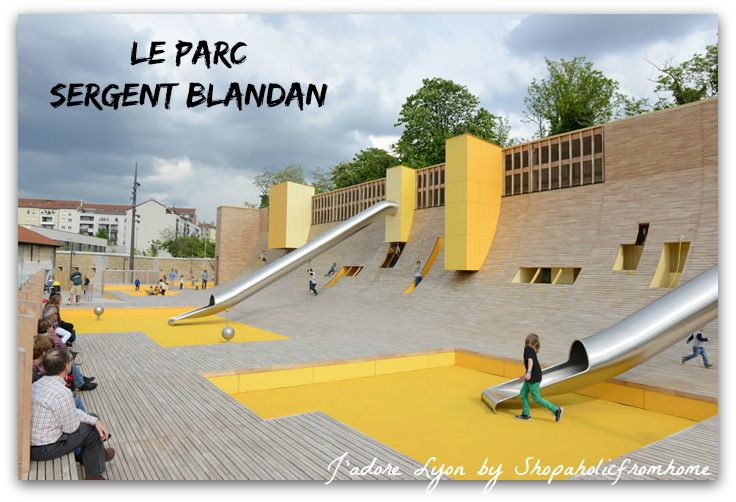 Le Parc Sergent Blandan. Photo by by lyon.fr