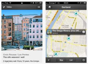 LYON Painted Walls Application Mobile App