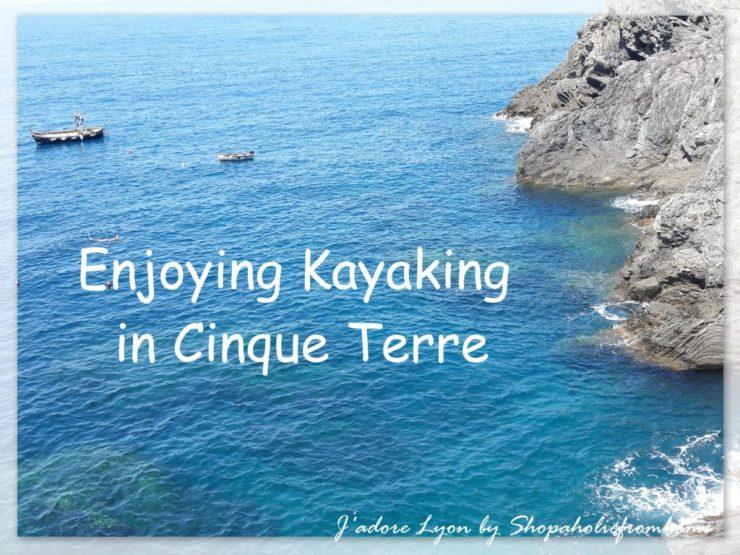 Enjoying Kayaking in Cinque Terre