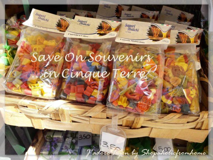 Save on Suvenirs in Cinque Terre