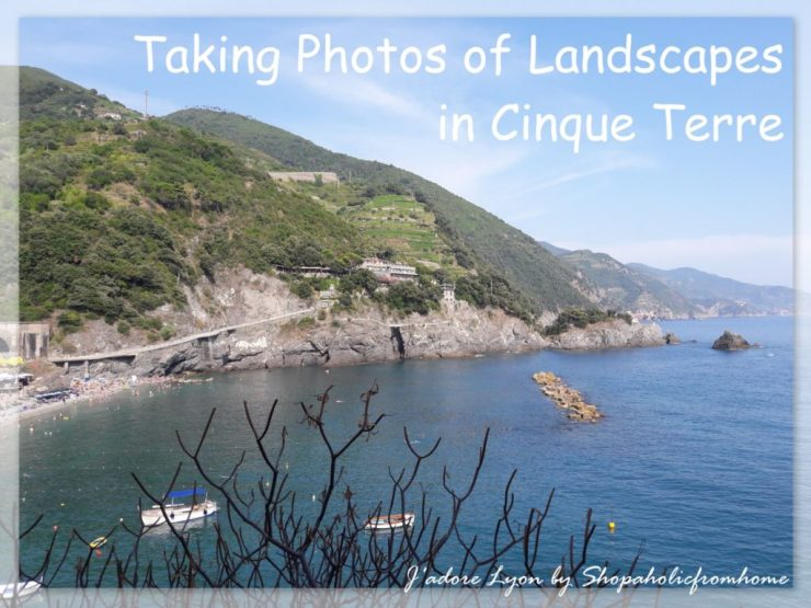 Taking Photos of Landscapes in Cinque Terre
