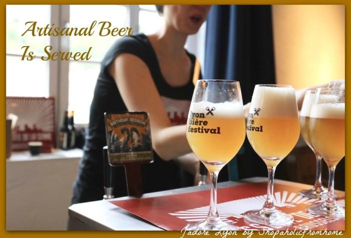 Artisanal beer in Lyon