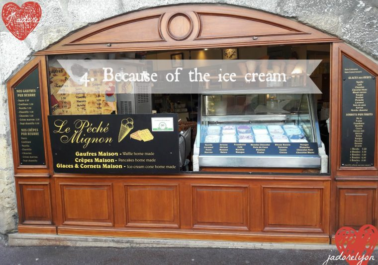 Because of the ice cream - Annecy is the best