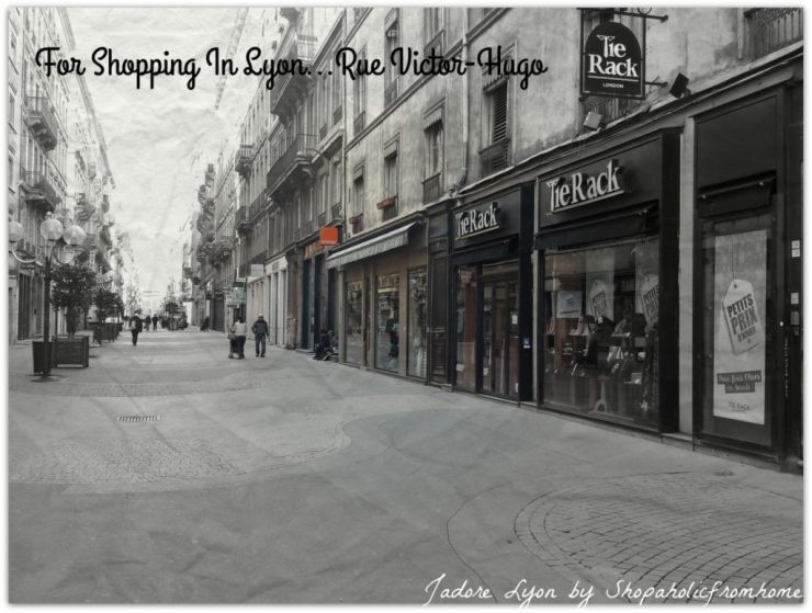 Rue Victor-Hugo - Shopping in Lyon