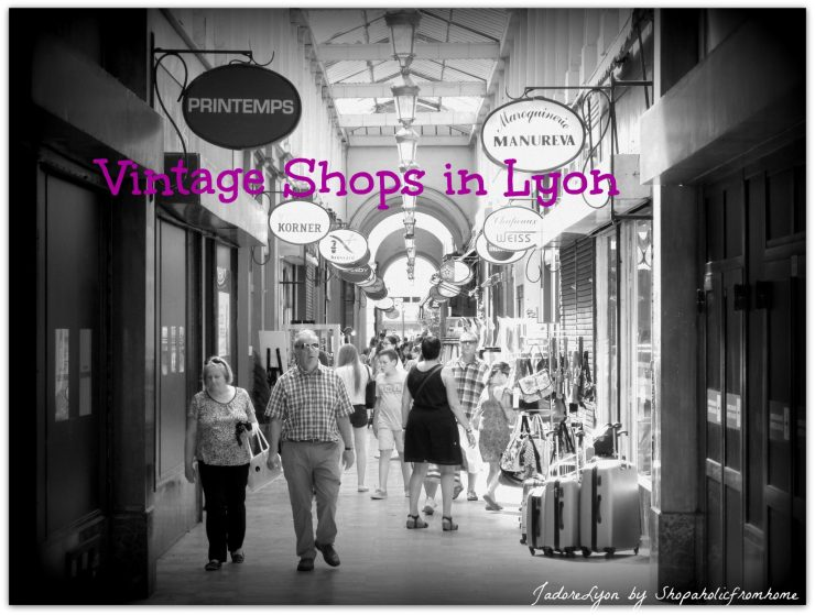 Vintage Shops in Lyon