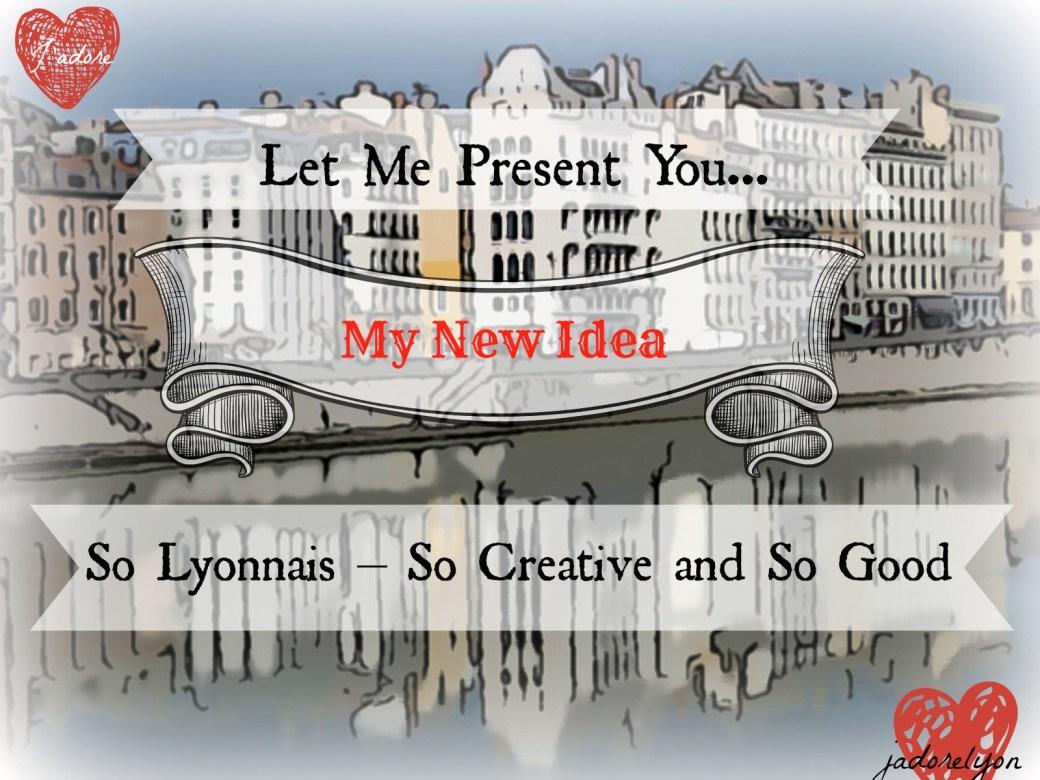 Let Me Present You - My New Idea