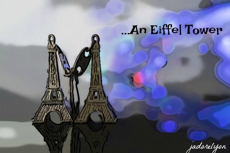 An Eiffel Tower Cheesy Souvenir