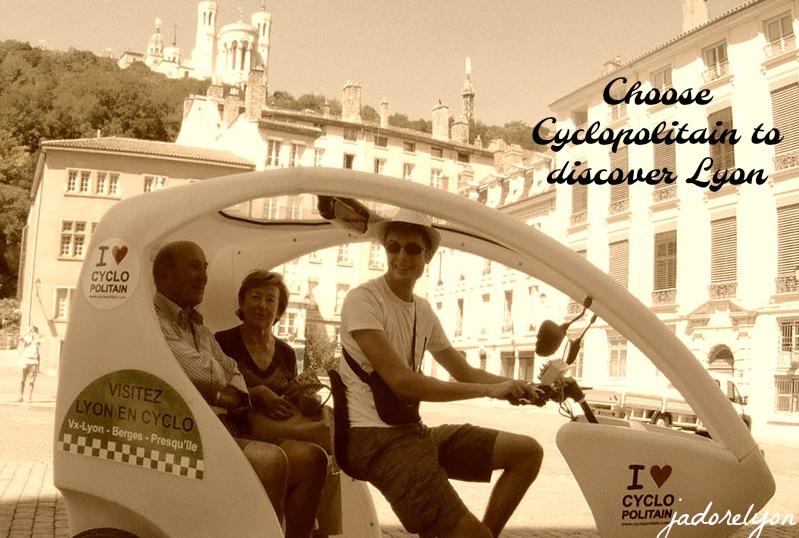 Lyon Cyclo Tour by Cyclopolitain
