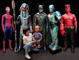 Meet The New Heros who arrived to the Minature and Cinema Museum