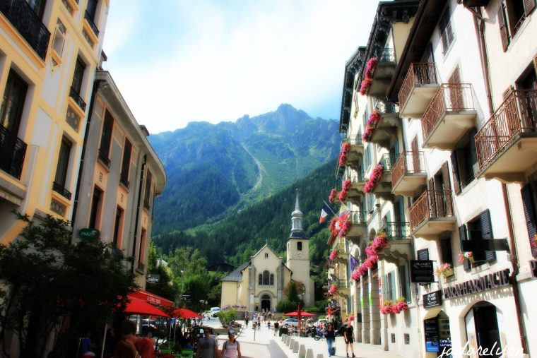 Because Chamonix is a charming beautiful town