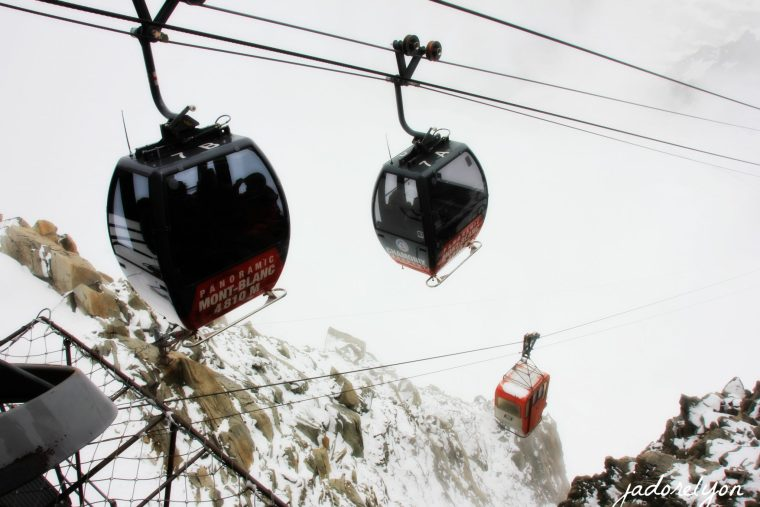 Because you can use the Tramway du Mont Blanc