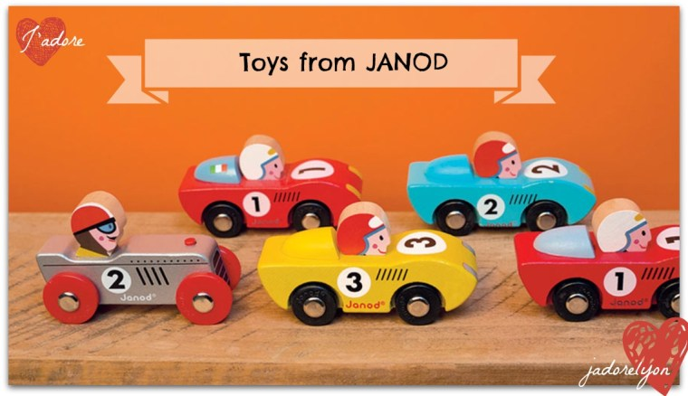 Toys from JANOD Bolides