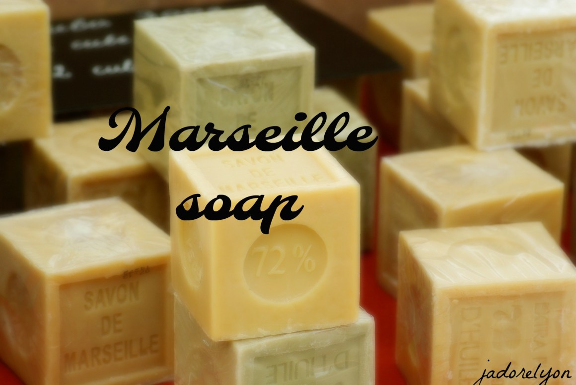 Some Marseille soap