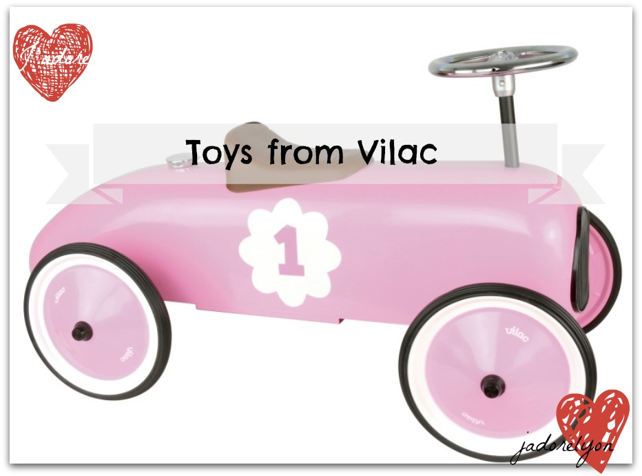 Toys from Vilac - Vintage_pink_car_from_vilac