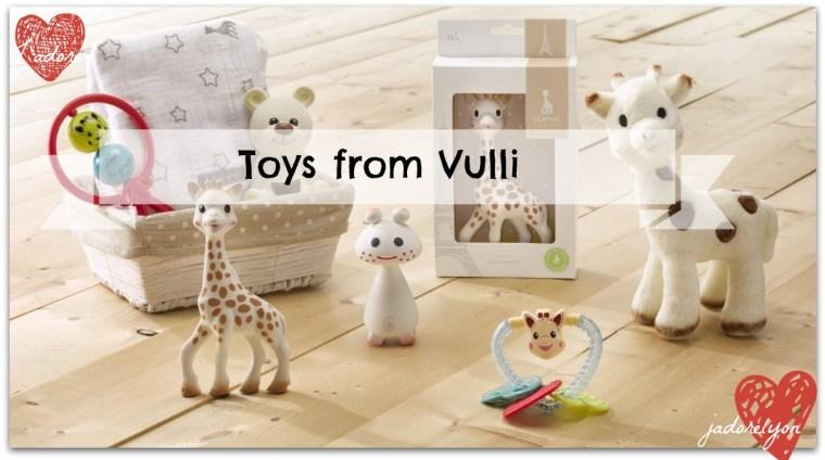 Toys from Vulli - One_Sophie_Giraffes_Set