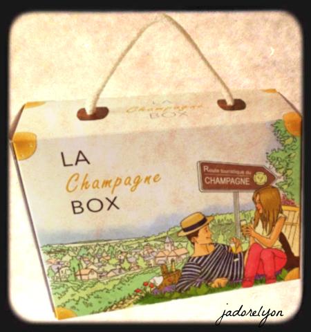 Coffret la Champagne box
