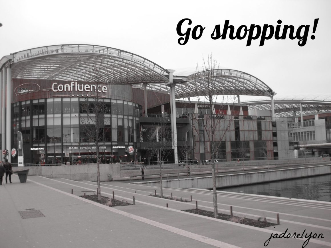 Go shopping!