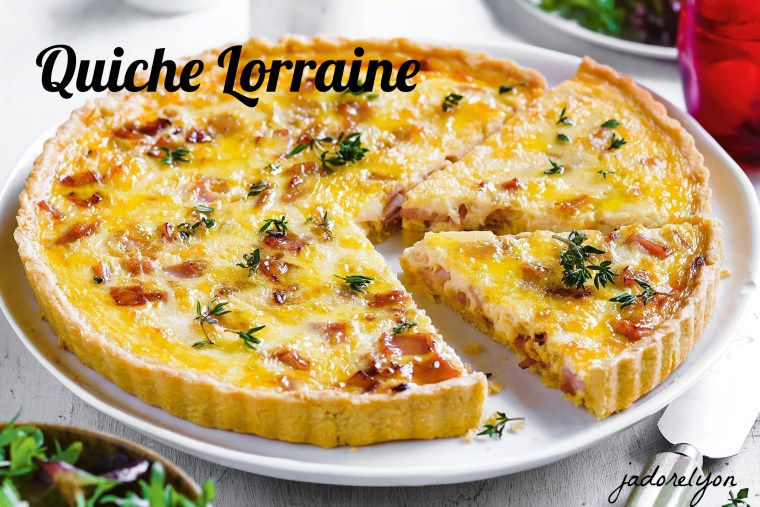 Quiche Lorraine.