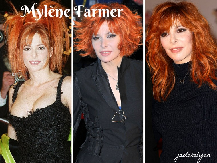 Mylène Farmer.