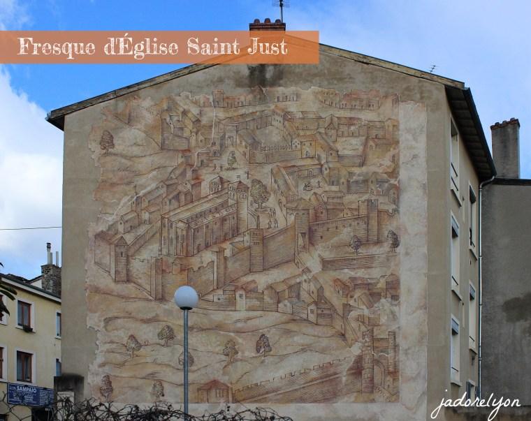 Fresque d'Église Saint Just