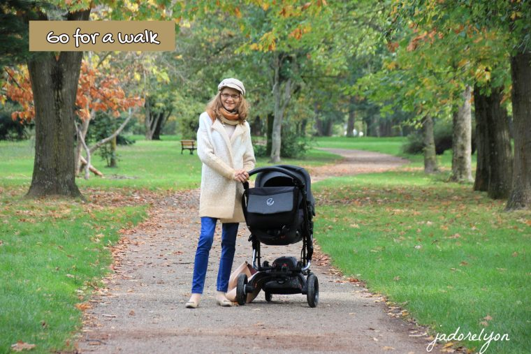 Activity with a baby in France - Go for a walk