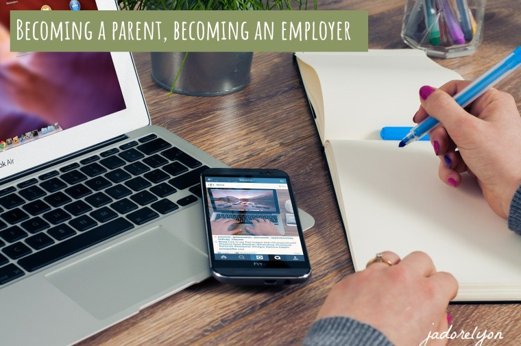 Becoming a parent, becoming an employer in France