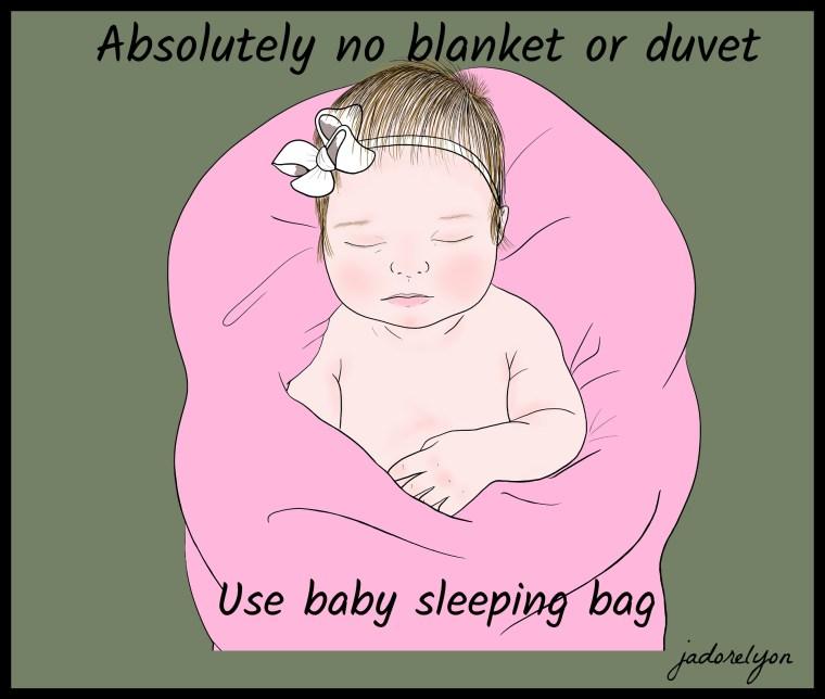 Baby sleeping bag or blanket
