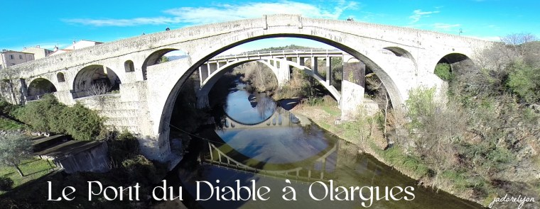Le Pont du Diable à Olargues