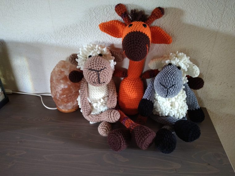 Such a cute toys from Wool & Co